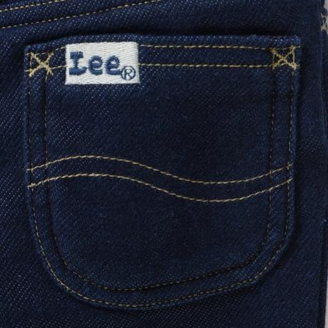 【Lee Kids】STRAIGHT(RINSE)/ストレートウォーム(インディゴブルー)110〜120size