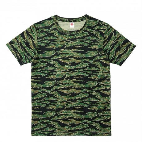 【Natural Smile】HYBRID T-SHIRT(Tiger Stripe)/ハイブリッド Tシャツ(タイガーストライプ)