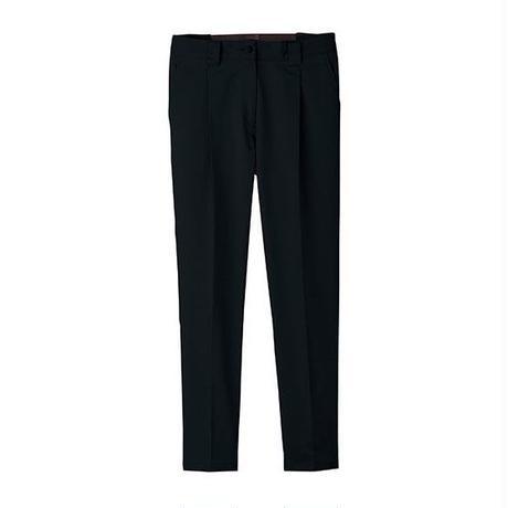 【Natural Smile】LADIES TAPERED PANTS(Black)/レディステーパードパンツ(ブラック)