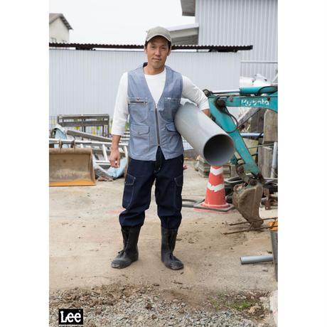 【Lee】T-SHIRTS(White)/Tシャツ 七分袖(ホワイト)