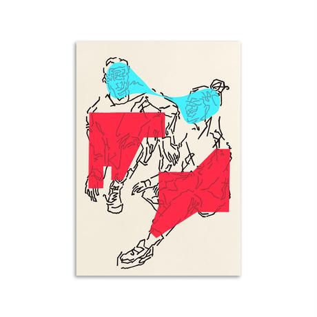 玉村聡之 / MEN & WOMAN / A3 ポスター