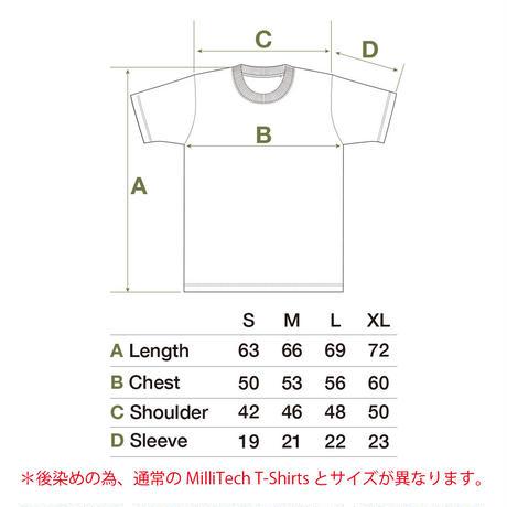 OVER-DYE PACK T-Shirts / BEIGE GREY & BLUE GREY