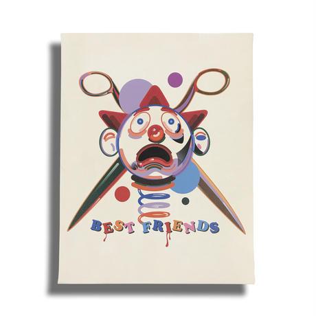 COUCH POTATOES キャンバス / Kiyoshi Okabe / AC08