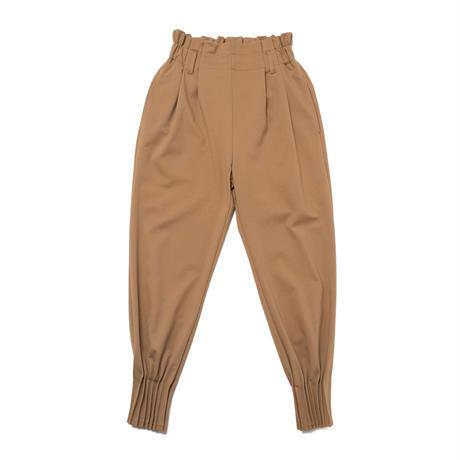 Pleats relax pants