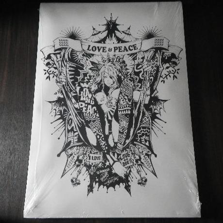 【A1ポスター】 jbsytleイラスト 『LOVE & PEACE』