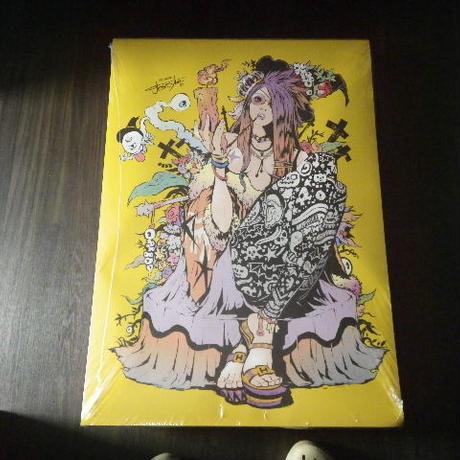 【A1ポスター】 jbsytleイラスト 『墓守の美女』