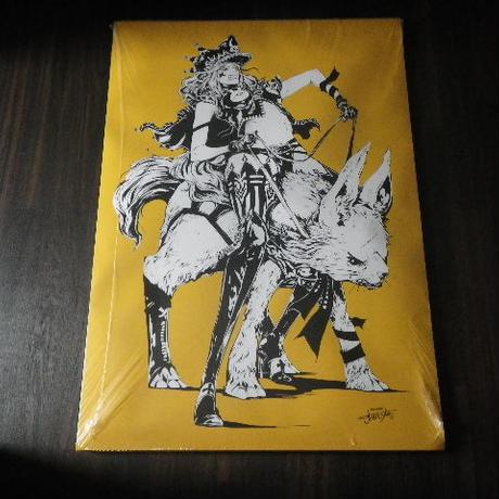 【A1ポスター】 jbsytleイラスト 『獣使い(yellow)』