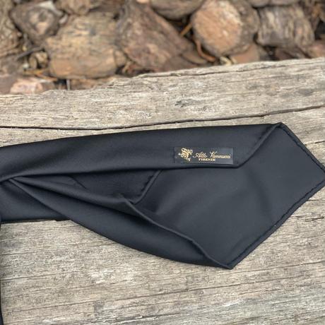 Atto Vannucci(アット ヴァンヌッチ) Wool Tie  Navy【Settepieghe】80511