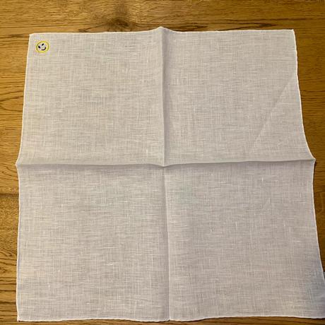 MUNGAI / ムンガイ/リネン チーフ/刺繍モチーフ