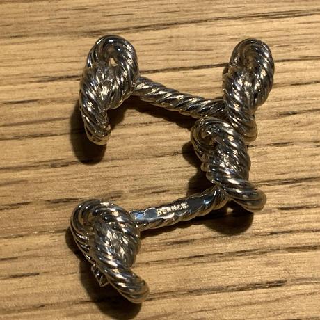 Hermes ロープモチーフ カフス