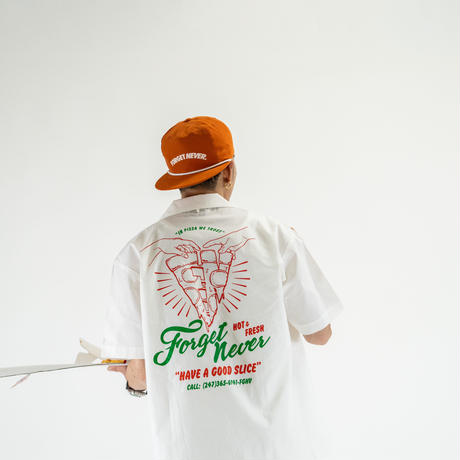 """""""HAVE A GOOD SLICE"""" WORK SHIRTS (WHITE)"""