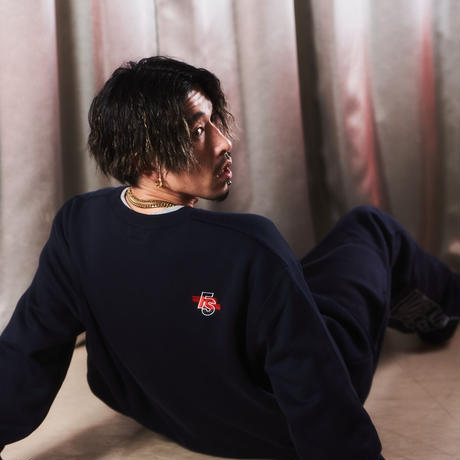 """""""S.R.E.A.M. x FORGET NEVER 2021 """" SWEAT TOPS【NAVY】"""