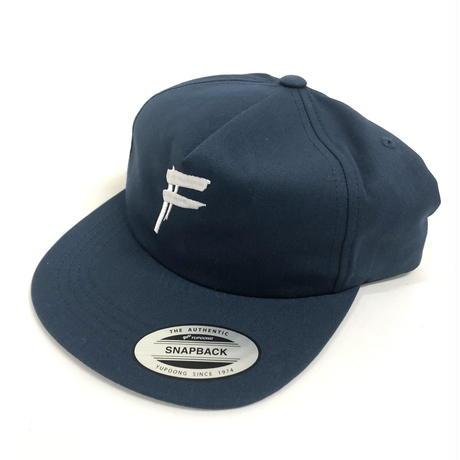 "HANDSTYLE ""F"" LOGO -SNAPBACK CAP ( NAVY )"