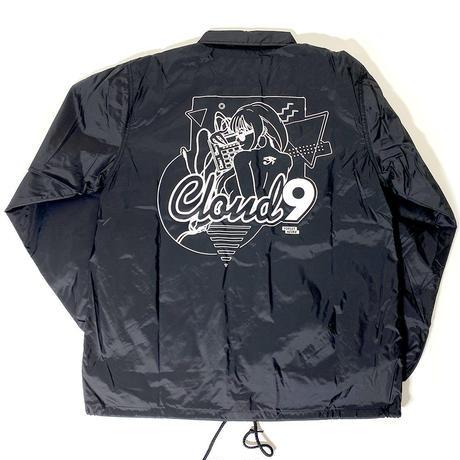 CLOUD9 / COACH JACKET ( Black )
