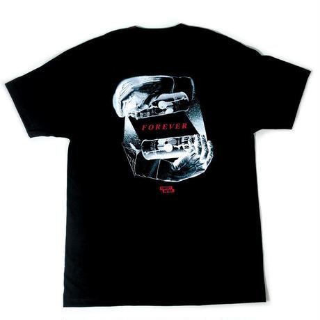 """""""FOREVER"""" - Short Sleeve T-Shirt ( Black )"""