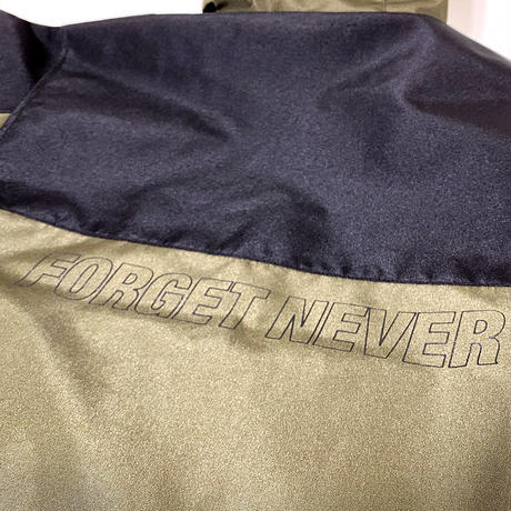 FORGET NEVER / MOUNTAIN JACKET ( BLACK-OLIVE )