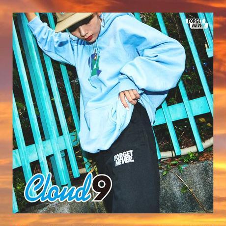 """""""CLOUD9"""" HOODIE ( Light Blue )"""