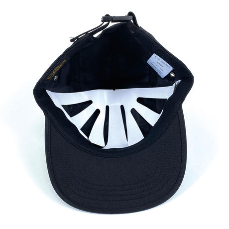 MA1- 5PANEL JET CAP (BLACK)