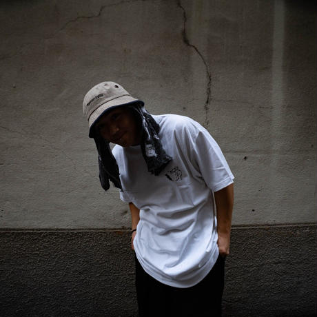 ANIMAL CYPHER - Short Sleeve TEE【WHITE/BLACK】