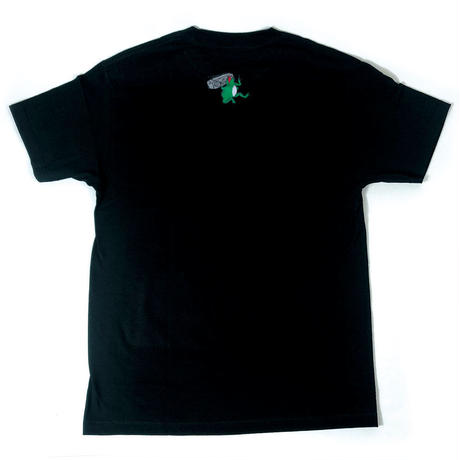 Animal Cypher Box - Short Sleeve T-Shirt ( Black )