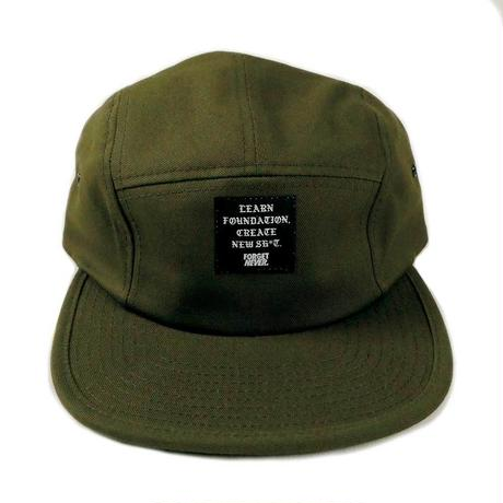 Patch Logo 5 panel ( MOS GREEN )
