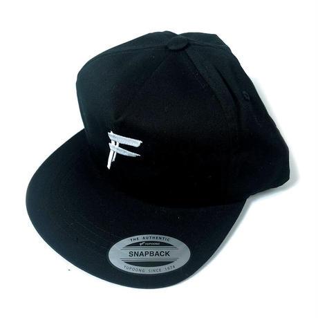"HANDSTYLE ""F"" LOGO -SNAPBACK CAP ( Black )"