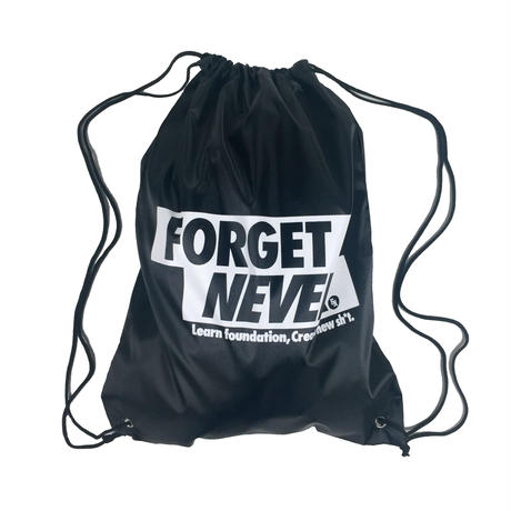 Box Logo draw string bag
