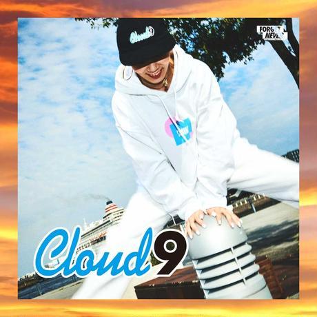 """""""CLOUD9"""" HOODIE ( White )"""