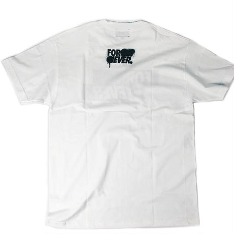 """FOREVER BOX"" - Short Sleeve T-Shirt ( White )"