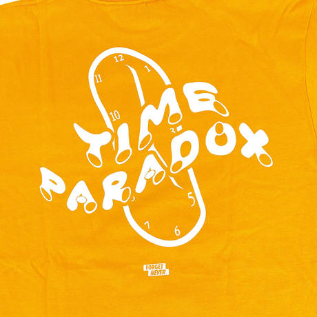 """TIME PARADOX"" S/S TEE (ORANGE)"
