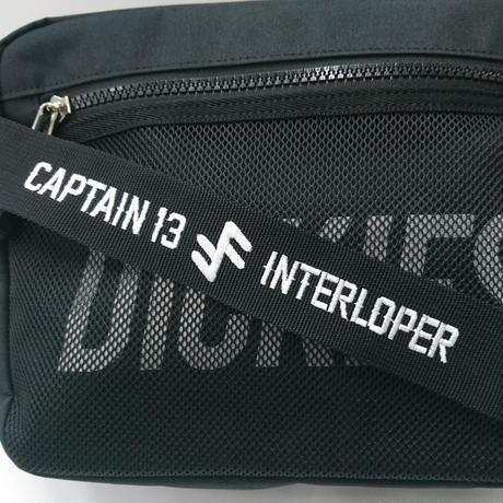 CAPTAIN13 + Interloper ダブルネーム刺繍 SHOULDER BAG