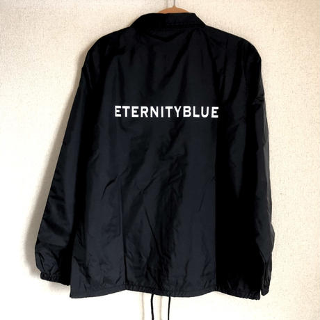 "【10周年記念SALE】18FW forte""ETERNITY BLUE""Coach Jacket(Black)"