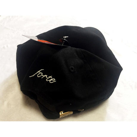 "forte""ETERNITY BLUE""CAP(Black) - General Price"