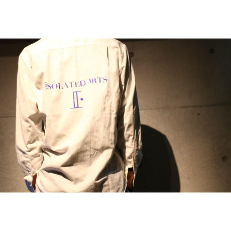 iSOLATED ARTS OXFORD B.D Shirts(WHITE)-Season.19-General Price