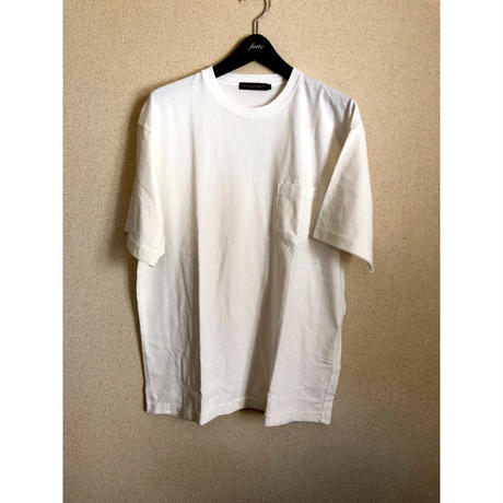 iSOLATED ARTSピグメントダイ Pocket T-Shirts(Vintage White)