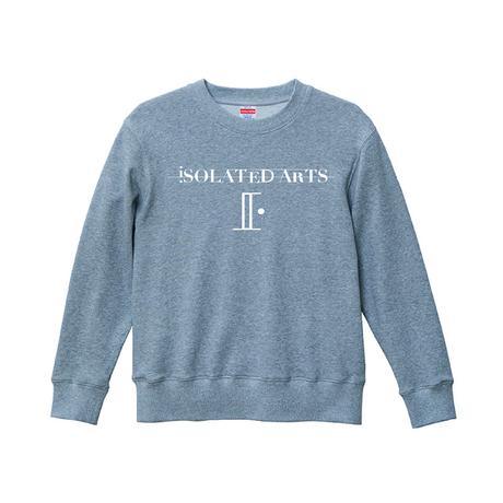 iSOLATED ARTS Official Logo Authentic Sweat(Black/Gray/Navy)裏パイル