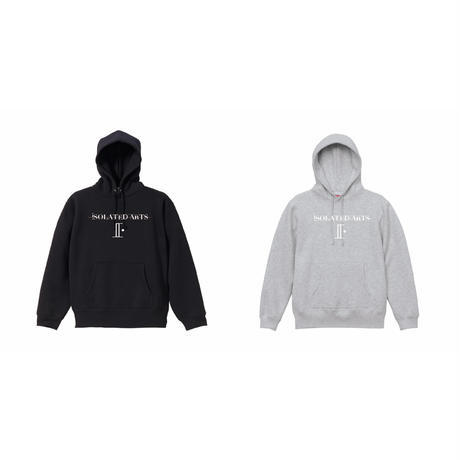 iSOLATED ARTS 2021 Authentic Logo Hoodie(Black/Ash)