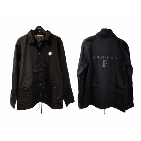 """【予約商品】iSOLATED ARTS T/C Coach Jacket""""ALL BLACK""""【9/29締め切り/10月中旬お届け】"""