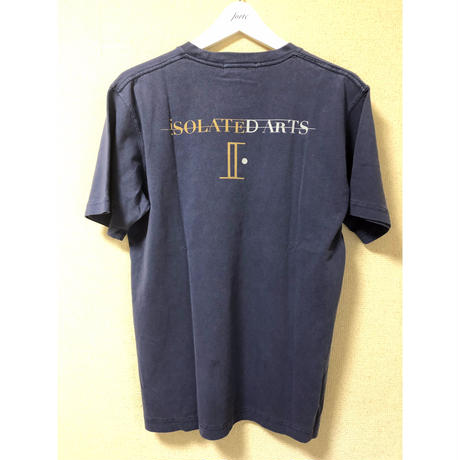 iSOLATED ARTS  ピグメントダイ Pocket T-shirts(Vintage Navy)