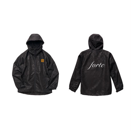 "【送料無料】forte Official Paisley Jacket""Bandanna""(Black)"