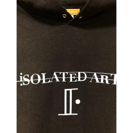 iSOLATED ARTS Official Hoodie(Black)