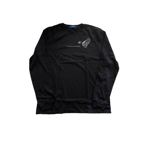 forte×Alice Korotaeva 2nd Collection Long Sleeve T-Shirts(Black)