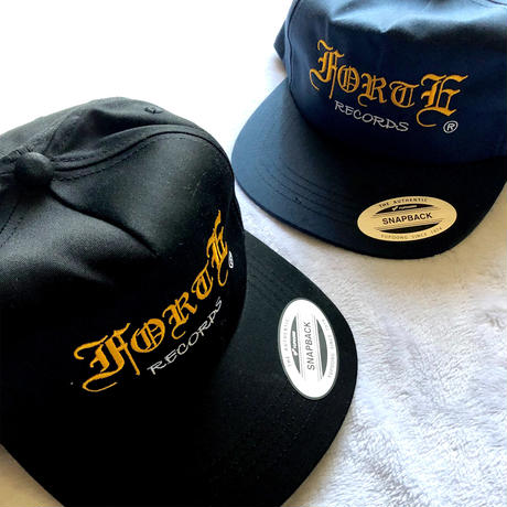 forte Unstructured 5Panel SnapbackCap (Navy)