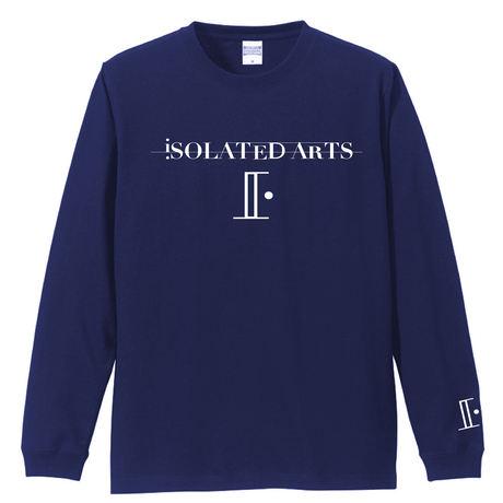 【New Size】iSOLATED ARTS-Standard Long Sleeve Tshirts(Navy)-General Price