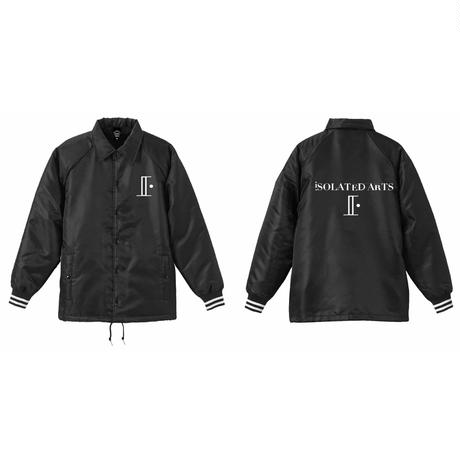 iSOLATED ARTS High Quality Coach Jacket(Black)ボア裏地仕様