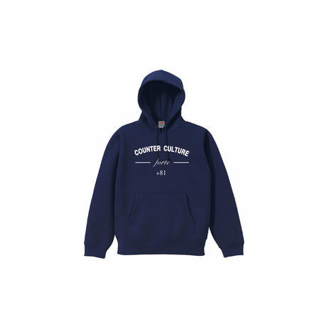 forte COUNTER CULTURE Pull Over Hoodie/裏起毛(Navy)