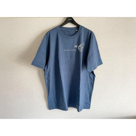 【New Color】forte×Alice Korotaeva 2nd Collection Over Sized T-Shirts(Denim Blue)