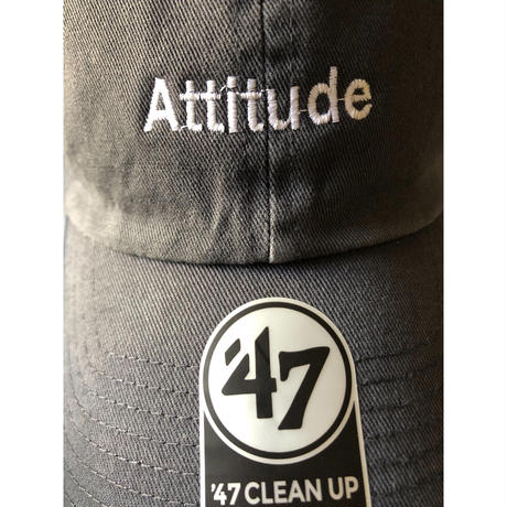 "forte 47brand Clean Up Cap""Attitude""(Vintage Navy)"