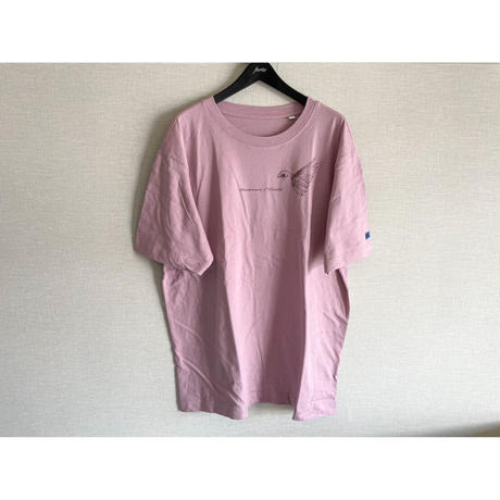 【New Color】forte×Alice Korotaeva 2nd Collection Over Sized T-Shirts(Purple Rose)