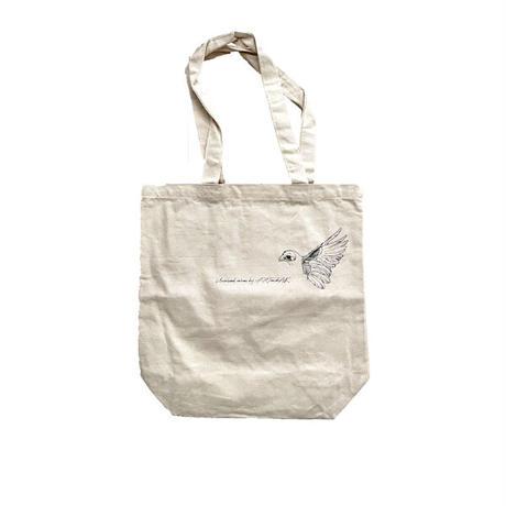 forte×Alice Korotaeva 2nd Collection Organic Cotton Tote Bag(Natural)